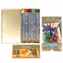 Cretacolor 12 Aquarellstifte in Metallbox Set zum...