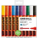 MOLOTOW - ONE4ALL ACRYLIC MARKER 227 HS, Basic-Set 1 10er...